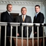 The team behind The House Collection announce details of Paddocks House, the second hotel for the company - (l-r) Ian Cross commercial director, David Toulson-Burke managing director and Jonathan Baker, financial director