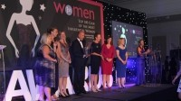 The winners at the Women 1st Shine Awards 2014