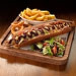 Fayre & Square's new autumn menu includes US-themed sharing dishes such as hotdogs with skinny fries