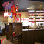 Pizza Hut's new design features different lighting schemes and bolder external facades