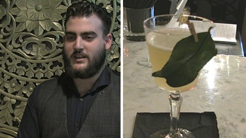 Cocktail demo: Chaophraya Newcastle's gin with Thai-style kaffir lime