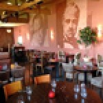 Berluskoni's Pizza & Ice Cream features walls adourned with the likes of Don Vito Corleone and Tony Soprano