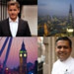 London's calling: Restaurateurs Gordon Ramsay and Vivek Singh say they are in the 'global food capital'