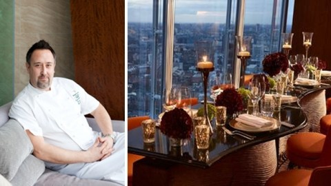 Gareth bowen joins the shard 39 s shangri la hotel as for Restaurants at the shard