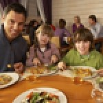 Family Friendly: Restaurants have been urged to do more to offer healthy menu alternatives for kids