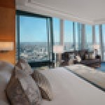 Room with a view: Shangri-La Hotel at The Shard's bedrooms all offer views across London