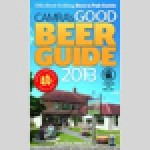 Camra's Good Beer Guide 2013 is available today (13 September) from retailers and from the Camra shop