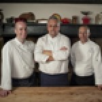Anthony Barnes (executive chef, Cardiff Marriott); Gary Richmond (Chef Tutor, River Cottage); and Gary Armitage (executive chef, Hollins Hall)