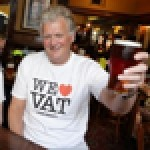 Tim Martin is supporting Jacques Borel's VAT Club on Tax Parity Day