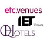 IET Venues, etc.venues and QHotels were winners of VenueVerdict's small, mid-sized and large hotel group Awards respectively