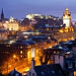 Boom town: A four-star hotel in Edinburgh currently costs an average of £207.51