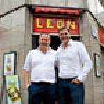 (L-R): Henry Dimbleby and John Vincent founded Leon with a site in Carnaby Street in 2004