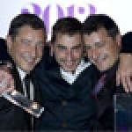 The Roca brothers - Joan, Jordi and Josef - celebrate winning the World's 50 Best Restaurants Awards 2013