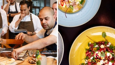 Bistro Vadouvan's Durga Misra on combining French technique with Middle Eastern and Indian cooking