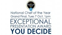 The Exceptional Presentation Award winner will be chosen by the public over social media