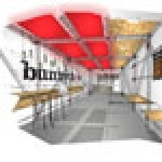 Bunnychow's 270 sq.ft site can seat up to 12 customers indoors and up to 50 outside