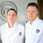 Last year, Steven Edwards (right) beat off tough competition from fellow finalists Scott Davies (centre) and Adam Handling (left)