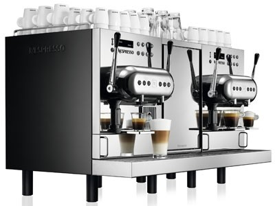 Nespresso professional machine